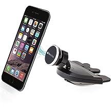 Bestrix Universal CD Slot Magnetic Smartphone Car Mount Holder for iPhone 7, 6, 6S Plus 5S, 5C, 5, 4S, 4, Samsung Galaxy S2 S3 S4 S5 S6 S7 Edge/Plus Note 2 3 4 5 LG G2 G3 G4 G5 all smartphones