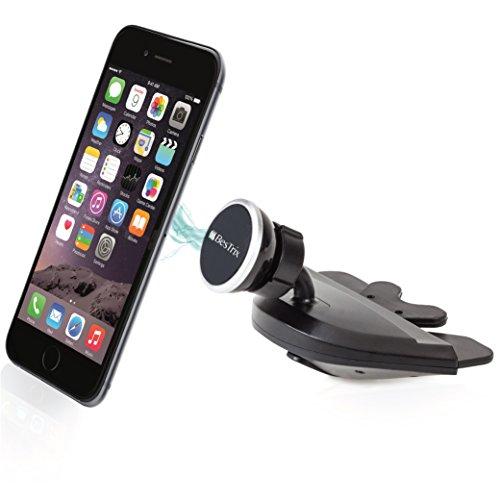 Bestrix Universal CD Slot Magnetic Smartphone Car Mount Holder for iPhone 7, 6, 6S Plus 5S, 5C, 5, 4S, 4, Samsung Galaxy S3 S4 S5 S6 S7 S8 Edge/Plus Note 2 3 4 5 LG G3 G4 G5 G6 all smartphones - Samsung Galaxy S2 Bow Case