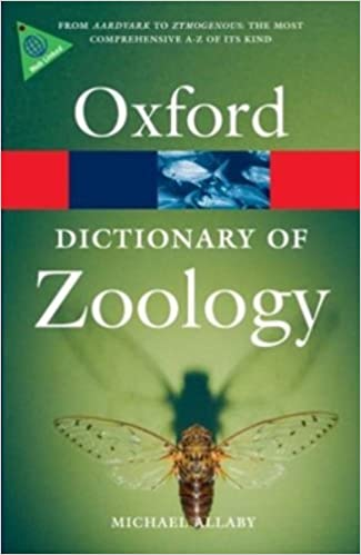 A Dictionary of Zoology 2nd Ed. - M. Allaby [PDF]