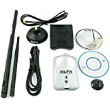 محول USB لاسلكي من Alfa Luxury 808.11 جرام (المدى الطويل) طاقة عالية 1000 ملي وات