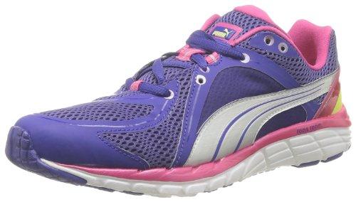 Puma Faas 600 S Wn's Damen Laufschuhe Blau - Bleu (Spectrum Blue/Purple/Lime)