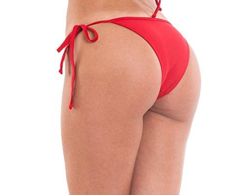COQUETA Swimwear Brazilian Bottom Mini Tiny Bikini Sexy Swimsuit String Side-MD