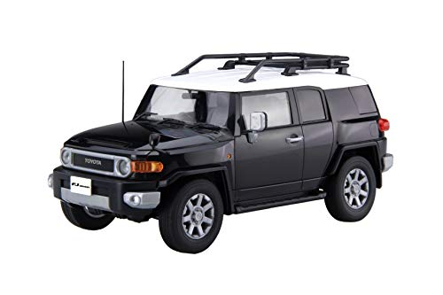 Fujimi Model 1/24 car Next Series No.9 EX-1 Toyota FJ Cruiser (Two-Tone Black) Color-Coded pre-Plastic Model Cars NX9EX-1