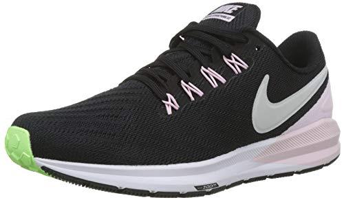 Nike Air Zoom Structure 22 Women's Running Shoe Black/VAST Grey-Pink Foam -Lime Blast 8.0 ()