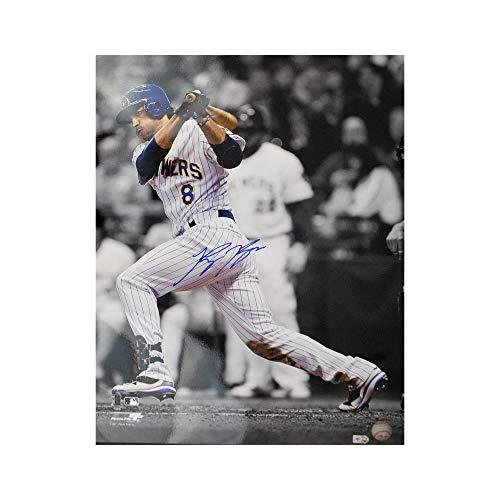 Ryan Braun Autographed Milwaukee Brewers 16x20 Photo - MLB Hologram