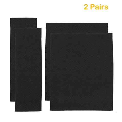 Counting Mars 2 Set Replacement Cover Canvas for Directors Chair, Black -