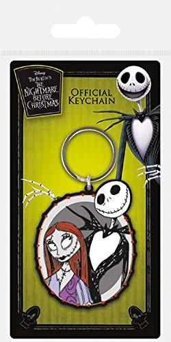 La de Mr y Sally 4 Keychains Jack Navidad Skellington X a 6 cm extra 1art1 4XIxzwd4