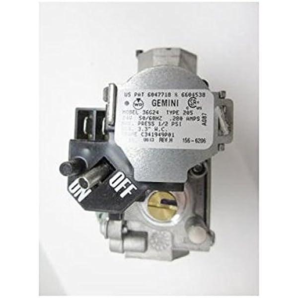 GAS VALVE   36G22Y   202   B12826-28