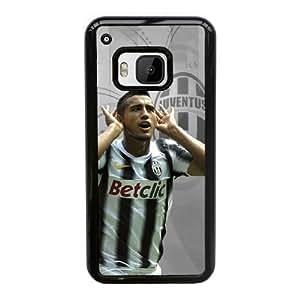 HTC One M9 Custom Cell Phone Case FC Juventus Players Arturo Vidal Case Cover YWFF68213