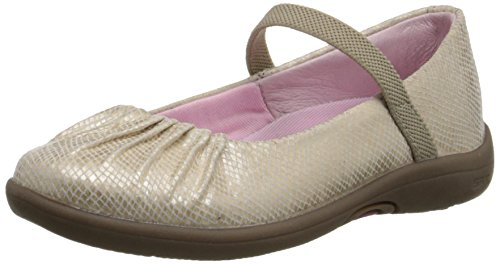 Stride Rite SRTech PS Cassie Mary Jane (Toddler/Little Kid),Champagne,8.5 M US Toddler