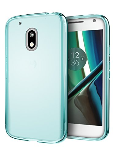 Moto G4 Play Case, Cimo [Grip] Premium Slim Fit Protective Cover for Motorola Moto G Play (2016) - Blue