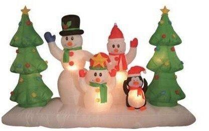 BZB Goods 8 pies de Largo Alrededor de árboles de Navidad de ...