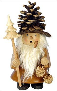1-957 - Christian Ulbricht Incense Burner - ''''Piencone'''' man - 10''''H x 6.5''''W x 5.5''''D by Alexander Taron Importer
