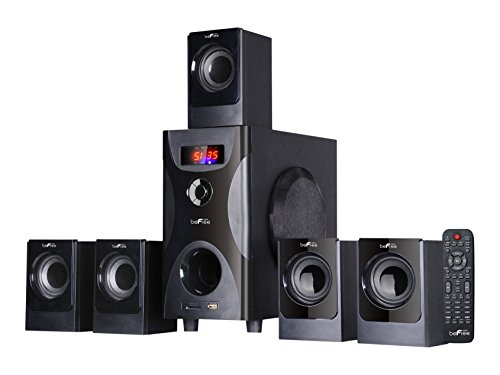 BEFREE SOUND BFS-425 Surround Sound Bluetooth Speaker System - Black (Surround Radio Sound)