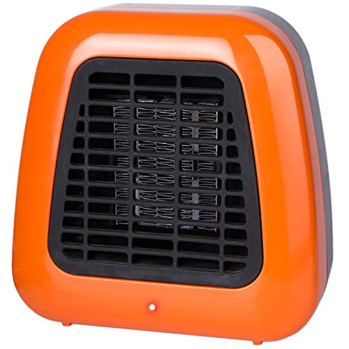 - Portable-Mini Heater 400-Watt Personal Ceramic Space Heater for Office Desktop Table Home Dorm, ETL Listed for Safe Use, Orange