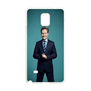 Samsung Galaxy Note 4 Cell Phone Case White_hc98 conan o brien host sexy celebrity FY1514011