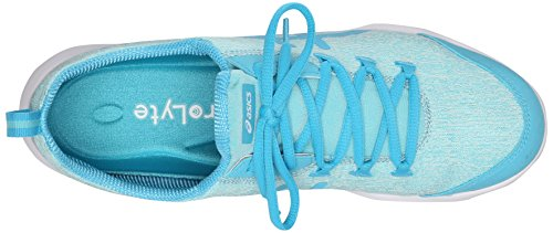 White Walking Turquoise 6 Aqua Grey Shoe Heather Asics Yellow Flash Women's US Metrolyte Splash B 6qE1WwWT