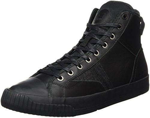 G-STAR RAW Campus Scott Raw High, Scarpe da Ginnastica Alte Uomo Nero (Black 990)