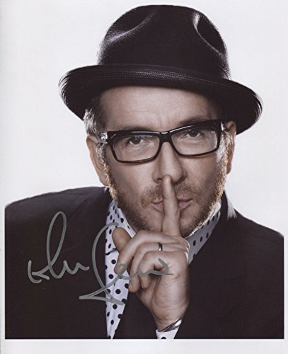 Elvis Costello SIGNED Photo 1st Generation PRINT Ltd 150 Certificate 4