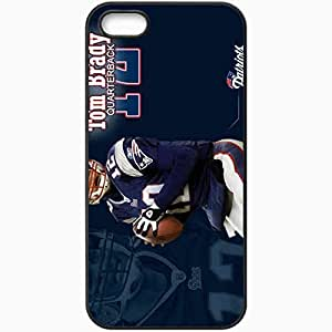 Personalized Diy For Iphone 5/5s Case Cover ell phone Case/Cover Skin 1142 new england patriots Black