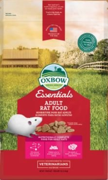 - Oxbow Essentials - Adult Rat Food 6 Pound (2 x 3 Pound Bags)