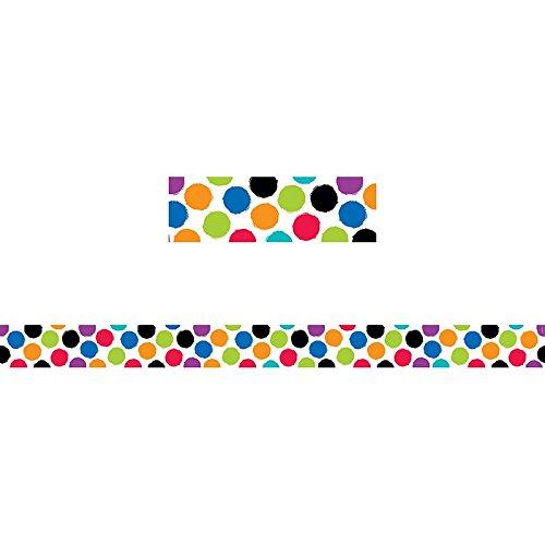 Creative Teaching Press Border Bold & Bright Colorful Spots (8342)]()