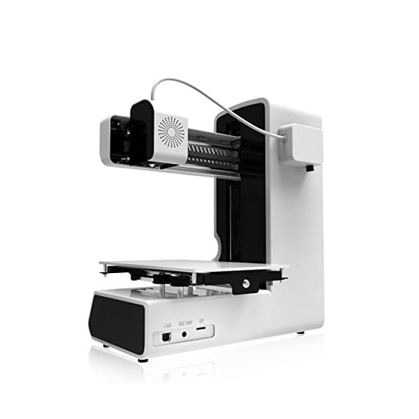 3IDEA Geeetech E180 Full Color Touch Screen Mini 3D Printer with Power Failure Recovery, White