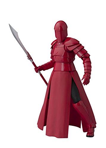 Ѕ.H. ƒiguarts Ѕtar Ẃars (ЅTAR ??ẂARS) elite Рraetorian ɡuard (Ẃhip staff) about 155mm АBS & РVC painted action figure