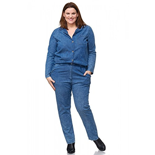 Combinaison Pantalon Jeans Femme Bleu Club Bleu one UEaxn7