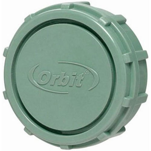 Orbit Manifold Parts, End Cap for Sprinkler Valve System, Water Irrigation 57197