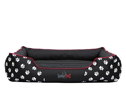 Hobbydog - Cama para Perro, Negro (Con Patas), XL (82x62x24 cm): Amazon.es: Productos para mascotas