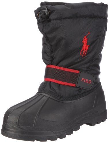 Polo Ralph Lauren Whistler (GS) Boys Snow Boots 95282-GS Black 7 M US