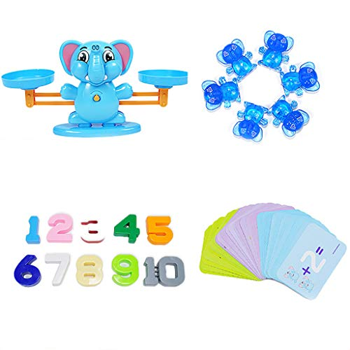 (UMFunEducational Children's Gift Learn Balance Math Game for Girls and Boys)
