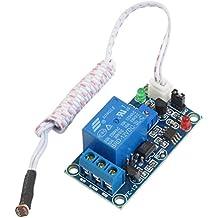 Ninetonine DC 12V Car Led Light Control Photoresistor Plus Relay Module Light Detection Sensor