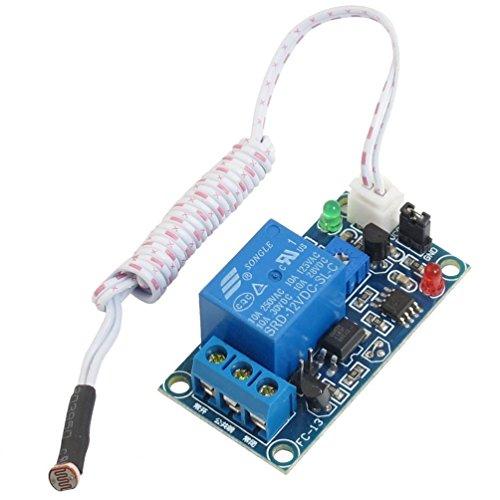 Sensor Relay - Ninetonine DC 12V Car Led Light Control Photoresistor Plus Relay Module Light Detection Sensor