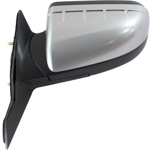 Kool Vue FD194EL Mirror for MERCURY SABLE/TAURUS 08-09 LH Power Manual Folding Heated w/ Memory and Puddle Light Satin Chrome (Sable Driver Mercury)