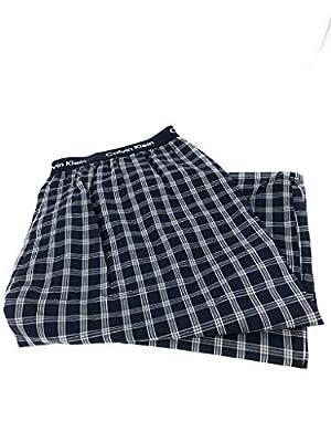Calvin Klein Logo Mens 100% Cotton Knit Pajama Sleep Pants Medium