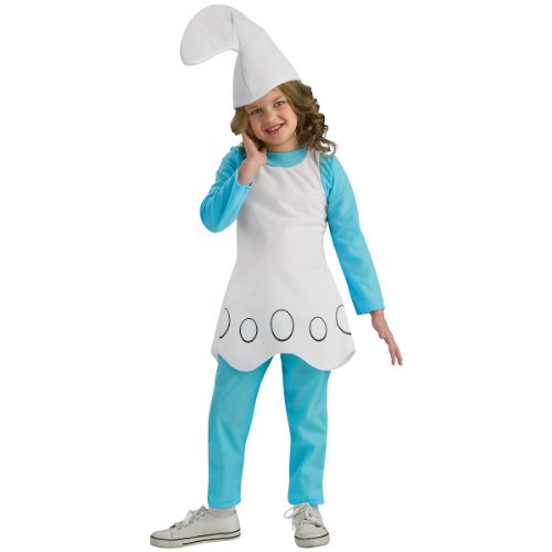 The Smurfs Movie Child's Costume, Smurfette Costume -