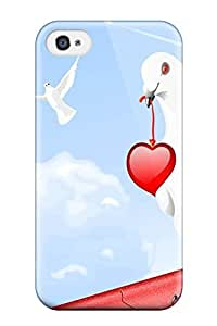 3288166K36329407 New Arrival Case Cover With Design For Iphone 4/4s- Love