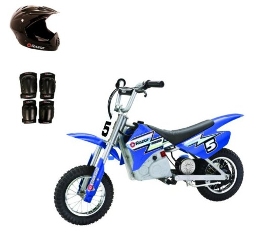RAZOR 24V Dirt Rocket MX350 Electric Motorcycle with Helmet