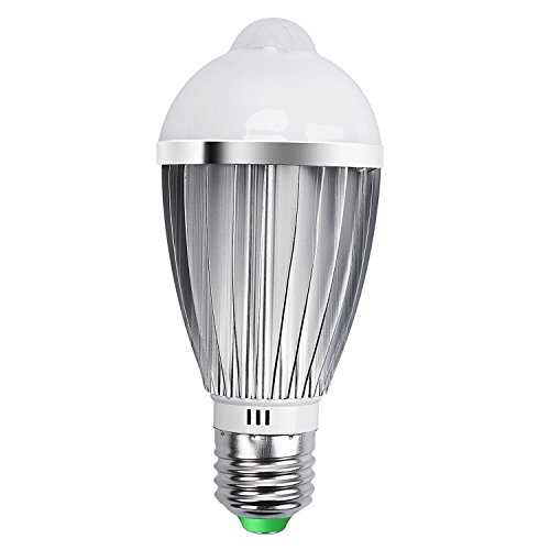 Practical Led Bulb Holder Infrared Motion Sensor Lamp Socket Switch For Corridor Power Saving White For Bathroom E27 High Quality New Hot Security & Protection
