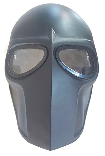 Invader King ® Flat Black Army of Two Airsoft Mask Protective Gear Outdoor Sport Fancy Party Ghost Masks Bb Gun