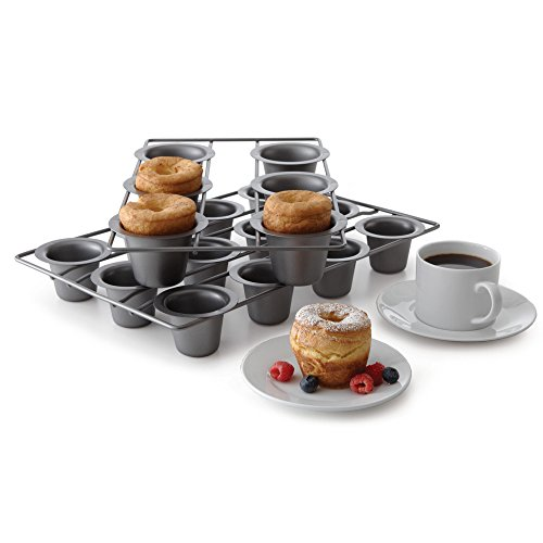 Chicago Metallic Professional 6-Cup Popover Pan, 15.5-Inch-by-9-Inch by Chicago Metallic (Image #2)