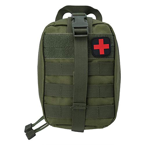 Outdoor Medical Emergency Bag Tactical Medical Emt Bag voor Outdoor Travel EHBO-kit Klimmen Hiking Rescue Bag(Groen)