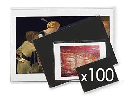 Wholesale Pack A1 x 50 Sleeves ArtWay Display Sleeves for Presentation Portfolio with Anti-Glare Finish