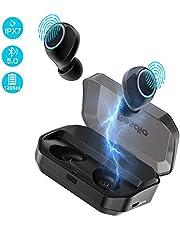Bluetooth Kopfhörer in Ear,BesDio Kopfhörer Bluetooth Kabellos Sport Ohrhörer IPX7 Wasserdicht mit 3350mAh Ladebox/Touch-Control/ Bluetooth V5.0/für iPhone, Huawei, HTC, Samsung und mehr