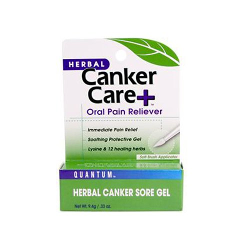Quantum Oral Care Canker Care + Herbal Canker Sore Gel 0.33 fl. oz. - Single Item ()