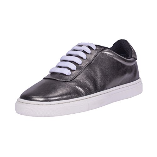 Loisirs Femme Anthracite Marche Dames Confortable Anthracite Plat Lacets Mode TD009 TEDISH Abella de Chaussures Outdoor Baskets Cuir S1xzTT