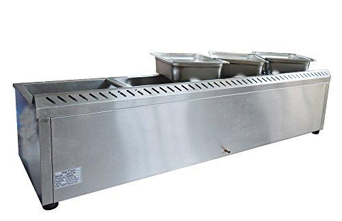 gas steam tables - 2