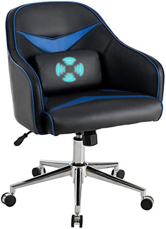 Giantex PU Leather Gaming Chair